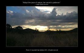 Cloudscape at Sunset - Chip Haldane