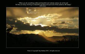 Sunset - Chip Haldane