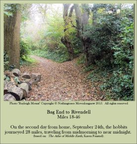 Bag End To Rivendell Miles 18-46 - Rayleigh Mount - Nothingtosee Movealong