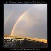 Twin Rainbows, Rio Grande - Contessa Brown