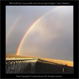 Twin Rainbows, Rio Grande - Contessa Brown