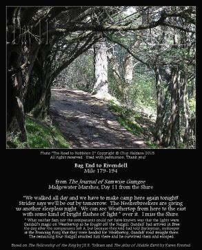 Bag End To Rivendell Miles 179-194 - The Road to Hobbiton 2 - Chip Haldane