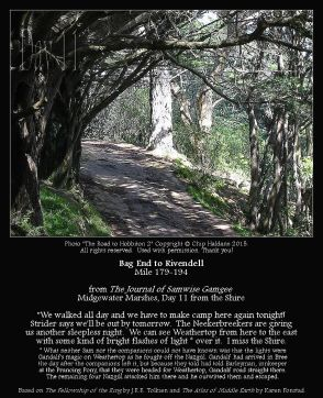 Bag End To Rivendell Miles 179-194 - The Road to Hobbiton 2 - Chip Haldane