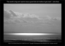 The Thames Estuary from Southend on Sea - Nothingtosee Movealongnow