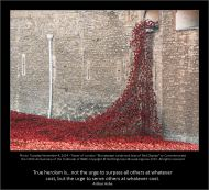 "Tuesday November 4 2014 – Tower of London – ""Bloodswept Lands and Seas"" of Red Display to Commemorate the 100th Anniversary of the Outbreak of WWI - Nothingtosee Movealongnow"