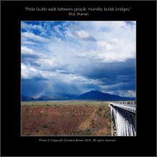 Bridge Rio Grande Gorge - Contessa Brown