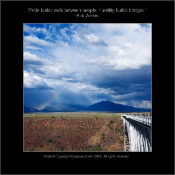 Bridge Rio Grande Gorge - Contessa Brown