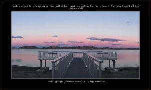 Pier, Sunset - Contessa Brown