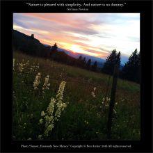 """Sunset, Ensenada New Mexico"""" - Ben Archer"""