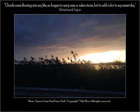 Sunset, Lums Pond - Niki Flow