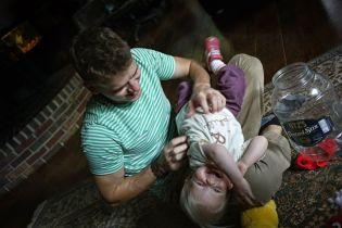 Ben and niece Evie, Oct 2014