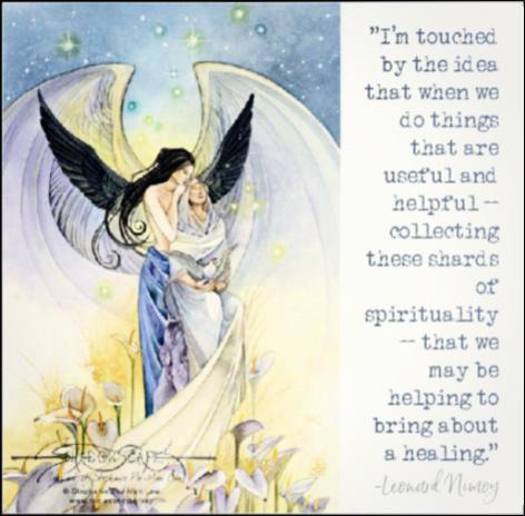 Leonard Nimoy Healing