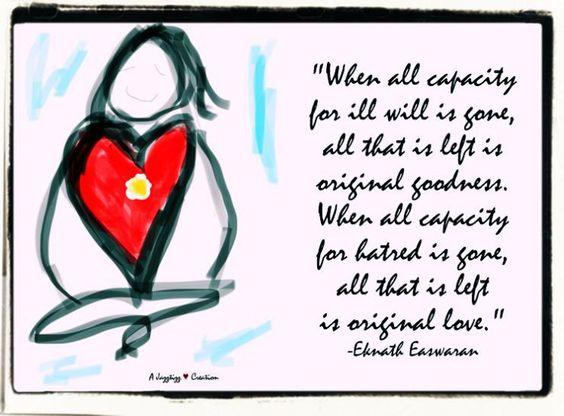 Original goodness Original love