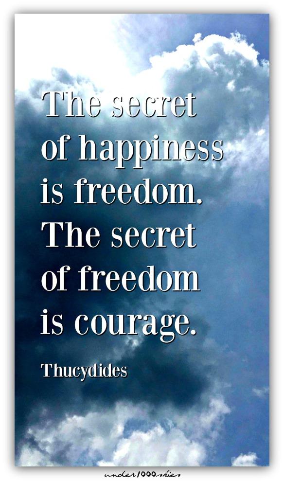 Freedom Courage Thucydides Gems 384 Niki Flow
