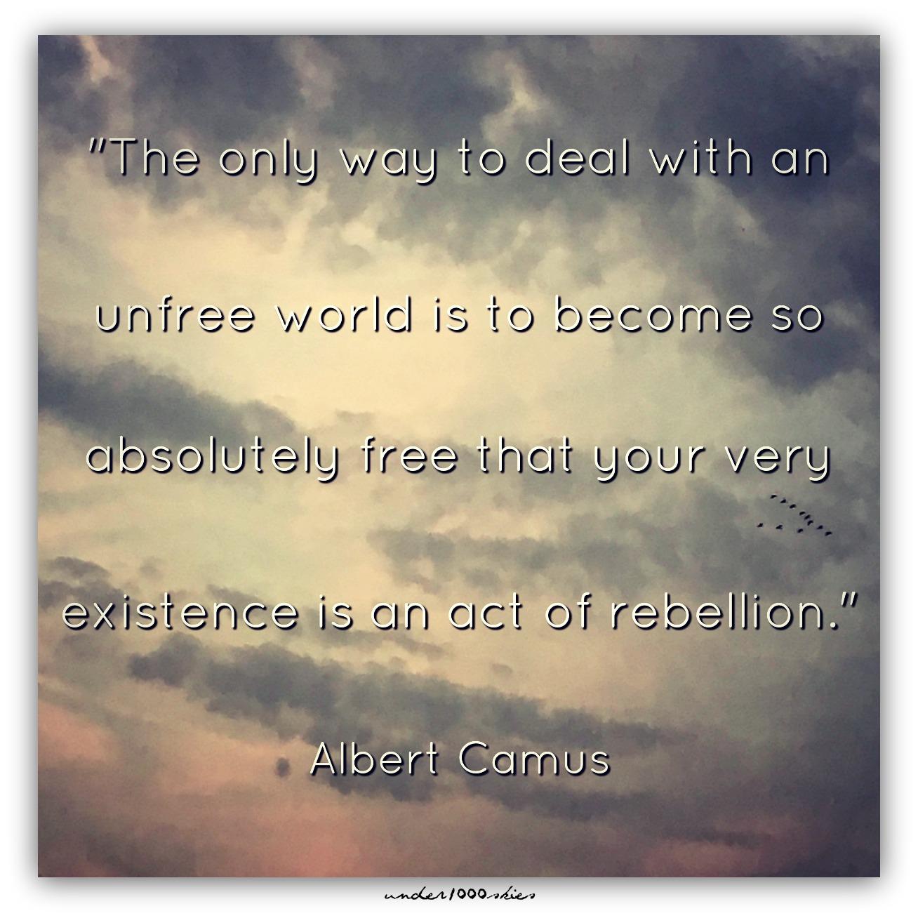 Unfree World Camus Gems 380