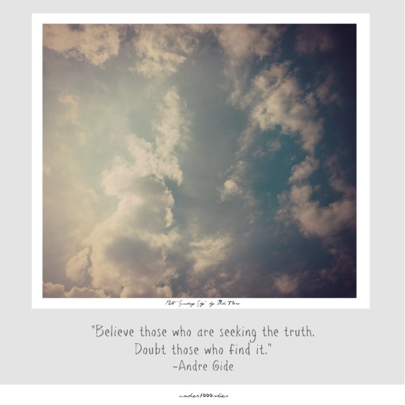 Gems 4.78 Andre Gide Truth Seekers